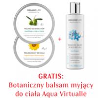 Zestaw Peeling solny do ciała , Peeling solny do stóp, Botaniczny balsam myjący do ciała AV 2+1 GRATIS