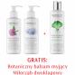 Zestaw Serum do ciała wyszczupla i ujędrnia, Serum do biustu + Balsam do mycia z miłorzębem GRATIS
