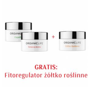 Zestaw Fitoregulator Smocza Krew, Copaiba, Żółtko roślinne 2+1 GRATIS