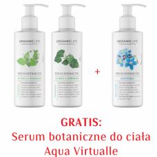 Zestaw Serum botaniczne przeciw rozstępom, cellulitowi, nawilżające 2+1 GRATIS
