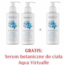 Zestaw Serum botaniczne do ciała nawilżające 2+1 GRATIS