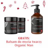 Zestaw męski Serum do twarzy, Serum pod oczy + Balsam do mycia twarzy GRATIS