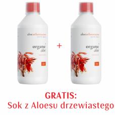 Zestaw 2xAloes drzewiasty 99,9% - Sok z aloesu drzewiastego ze świeżych liści 1+1 GRATIS