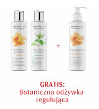 Zestaw Balsam myjący do włosów regulujący, pielęgnacyjny + Odżywka regulująca 2+1 GRATIS
