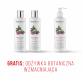 Zestaw 2xBalsam myjący do włosów wzmacniający + Odżywka wzmacniająca GRATIS