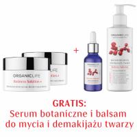 Zestaw Cera naczynkowa - 2xKrem na noc + Serum botaniczne, Balsam do mycia i demakijażu twarzy 2+2 GRATIS