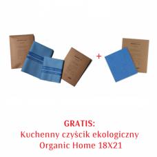 Zestaw Organic Home Czyścik ekologiczny 46X40, 35X32 + Kuchenny czyścik 18X21 GRATIS