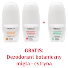 Zestaw Dezodoranty botaniczne, bez aluminium 2+1 GRATIS