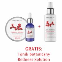 Zestaw Cera naczynkowa - Peeling enzymatyczny, Serum, Tonik 2+1 GRATIS