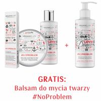 Zestaw Peeling enzymatyczny do cery trądzikowej, Tonik, Żel punktowy + Żel do mycia twarzy z aktywnym srebrem 3+1 GRATIS