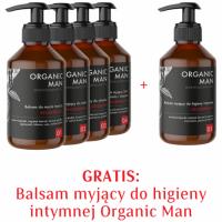 Zestaw Organic Man Balsamy myjące 4+1 GRATIS
