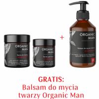 Zestaw męski Serum do twarzy, Serum pod oczy, Balsam do mycia twarzy 2+1 GRATIS