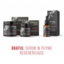 Zestaw męski regenerujący Serum do twarzy, Serum pod oczy + Serum w płynie GRATIS
