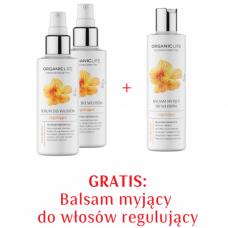 Zestaw 2xSerum botaniczne regulujące + Balsam do włosów regulujący 2+1 GRATIS