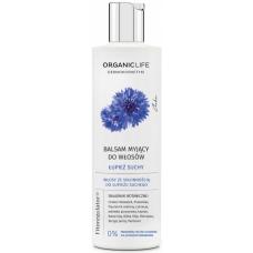 Balsam myjący do włosów (szampon), łupież suchy